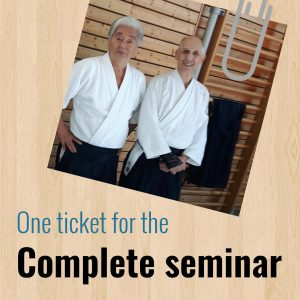 Posluns Sensei Seminar 14-15 april 2018 (complete ticket)